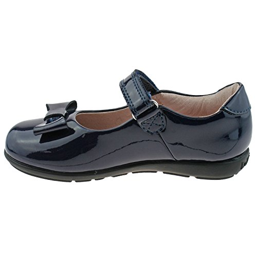 Navy UK G Fitting School 12 Patent Kelly Perrie 30 Shoes DE01 LK8246 Lelli Leather zvw7IRqwT