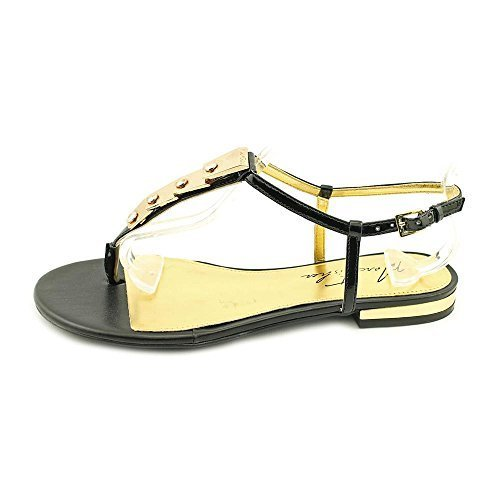 Marc Fisher Womens Lowfish Split Toe Special Occasion TStrap Black Size 6.0