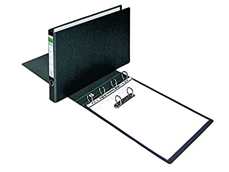 Elba Cartón Compacto - Carpeta de anillas cartón compacto, A3 apaisado, L50 mm, 4D x 35 mm: Amazon.es: Oficina y papelería