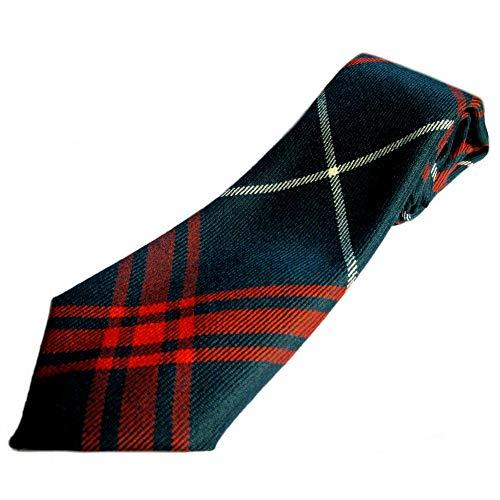 House Of Edgar Mens Welsh National Modern Tartan Ties 100% Wool
