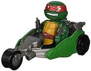 Teenage Mutant Ninja Turtles T-Sprints Rapid Assault Raphael with Stealth Bike Basic Figure