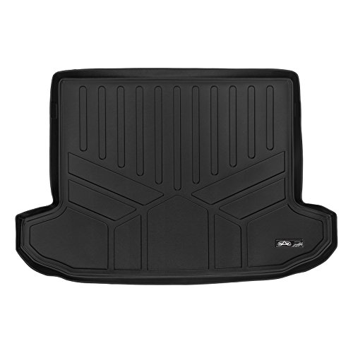 MAX LINER D0206 Black MAXTRAY Cargo Liner  Behind Second Row