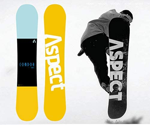 XGeek Cambered Snowboard for Beginners and Experienced Riders-Sizes 151-155-159-Best All Terrain, Twin Directional, Hybrid Profile – Adjustable Bindings
