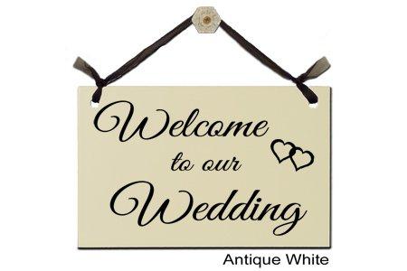 Amazon.com: Bienvenido a nuestra boda – Decorative firmar s ...