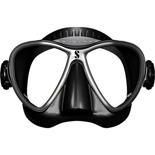 Scubapro Synergy 2 Twin Scuba Diving Mask (Black/Silver)