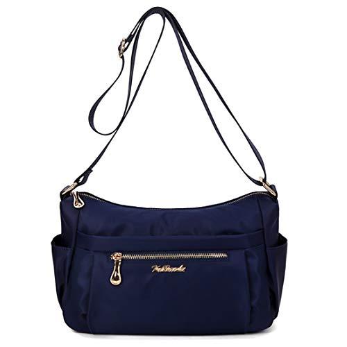 Negro Lona Tclothing Para Azul Bolso Mujer Cruzados De nwwYBqO7