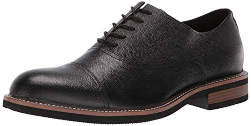 Kenneth Cole REACTION Men's Klay LACE UP C Oxford, Black, 8 M US