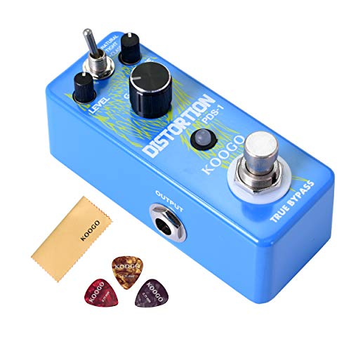 Koogo DIST-2 Distortion Pedal Solo Effect Guitar Pedal True Bypass