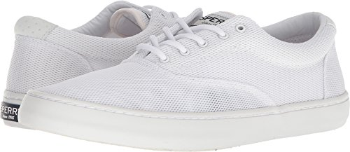 Sperry Men's, Cutter CVO Mesh Lace up Shoes White 12 M