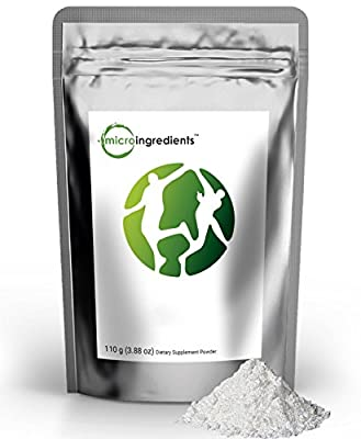 Micro Ingredients Pure L-Theanine 99% Powder - Promote Relaxation & Nervous System Health