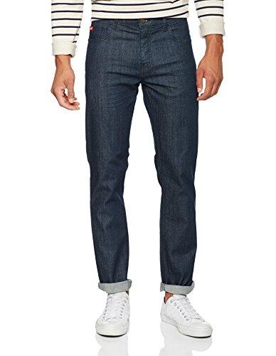Basicon rinse Straight Cooper Uomo Wash Wash Jeans Blu Rinse Lee FxZfqUw5