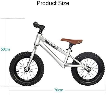 YJF Bicicleta de Equilibrio para niños pequeños de 12 Pulgadas Sin Pedales y neumáticos de Goma Neumáticos Deportivos para niños Bicicleta de Equilibrio Bicicleta con sillín Ajustable: Amazon.es: Hogar