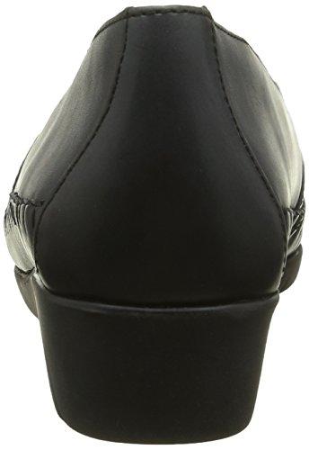Luxat Emantine, Mocasines para Mujer Gris - Gris (Gris Foncé)