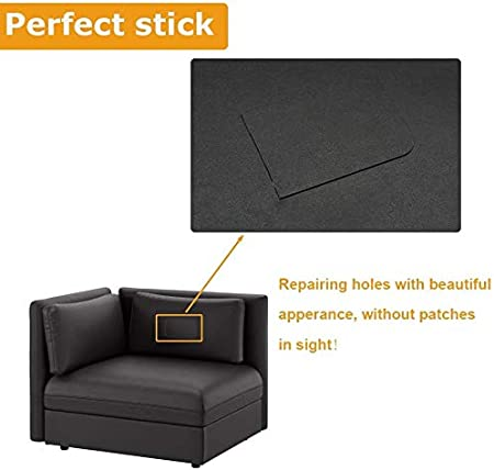 Lederreparatur Flicken Selbstklebend Patch 2 St Reparaturflicken Für Sofa Möbel Autositz 20 28cm Küche Haushalt