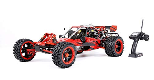 (MZL Remote Car Rock Crawler 1:5 high with Adult Fuel Remote Control car Model/Double Row Silencer Exhaust Pipe / 45cc Single Cylinder/Four Fixed Gasoline Engine (LxWxH:)