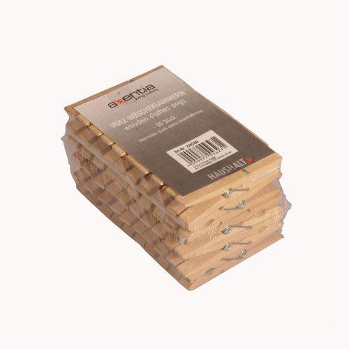 50 Holz Wäscheklammern