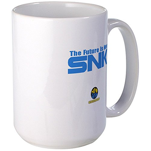 CafePress NeoGeo Large Coffee White