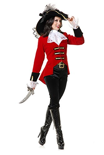 Charades Women's Page Boy Pirate Lady Costume