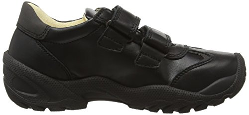 Primigi Ten 1-e, Zapatillas, Niños Negro (Black)