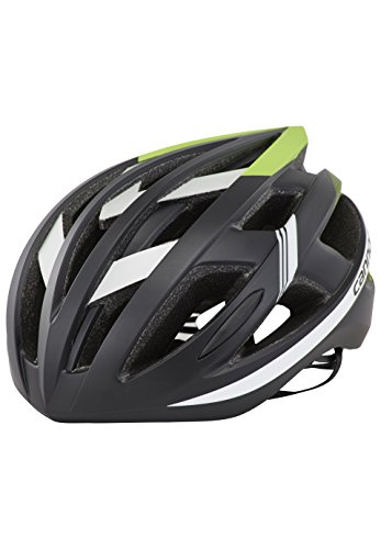 Cheap Cannondale 2017 CAAD Road Bicycle Helmet (Black/Green – S/M)