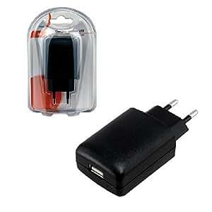MCL PS-5DC/USB-2A Interior Negro - Cargador (Interior, Universal, Corriente alterna, Negro, 110 - 240, 5 V)