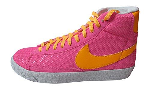 Nike Pink Blazers (nike blazer mid vintage (GS) hi top trainers 539930 602 sneakers shoes (uk 5.5 us 6Y eu 38.5))