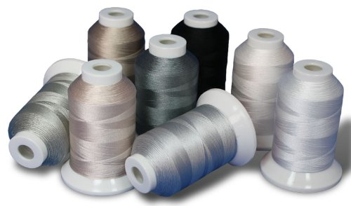 Superior Threads Kimono Silk #100 Quilting Thread 1090 yds Cone Set of 80 Colors 133-02-SET by Superior Threads