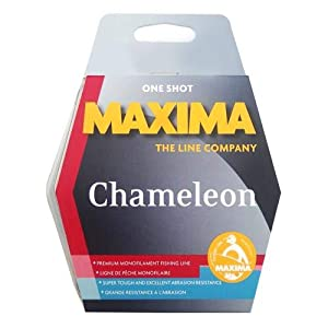 Sunset MAXIMA ONE SHOT 8LB CHAMELEON Brown, 200m