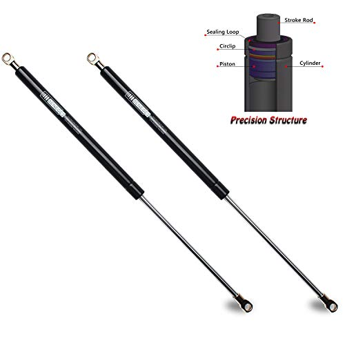 (Beneges 2PCs Universal Gas Charged Lift Supports Spring Struts Shocks Dampers Force 70 Lbs/311 N Per Prop, Force Per Set 140 Lbs/622 N, Extended Length 17 inches 4482)