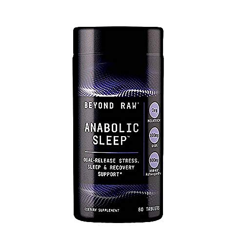 Beyond Raw Anabolic Sleep, 60 Tablets, Supports Restful Sleep