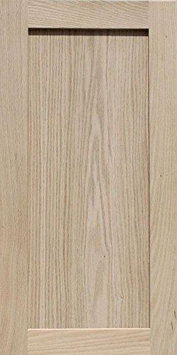 28h Cabinets (Unfinished Oak Shaker Cabinet Door by Kendor, 28H x 14W)