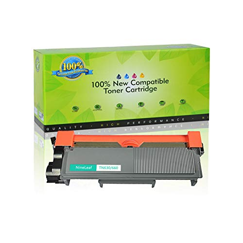 NineLeaf Compatible Toner Cartridge Replacement for Brother TN660 TN-660 TN630 HL-L2315DW HL-L2380D MFC-L2685DW MFC-L2740DW Printer (1 Black), Up to 2,600 Page yld -  NineLeaf Tech, QNL-AMA004-TN660-1PK