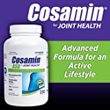 Cosamin ASU Joint Health Active Lifestyle Glucosamine HCl Chondroitin Sulfate AKBA 230 capsules (1 bottle (230 capsules)) by Cosamin DS