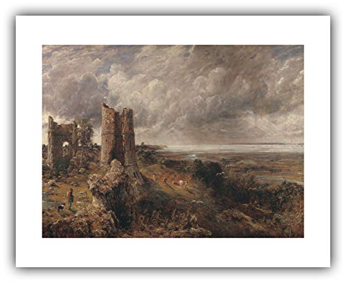 - The Ibis Print Gallery - John Constable : ''Hadleigh Castle, The Mouth of The Thames - Morning After a Stormy Night'' (1829) - Giclee Fine Art Print