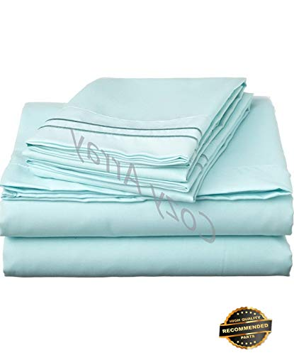 - Sandover 1500 Thread Count 4 Piece Bed Sheet Set - Perfect Christmas GIFTTwin | Style DUV-5301218201