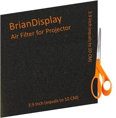 Briandisplay General Projector air filter for HITACHI CP-X1200W INFOCUS LP840 3M X70
