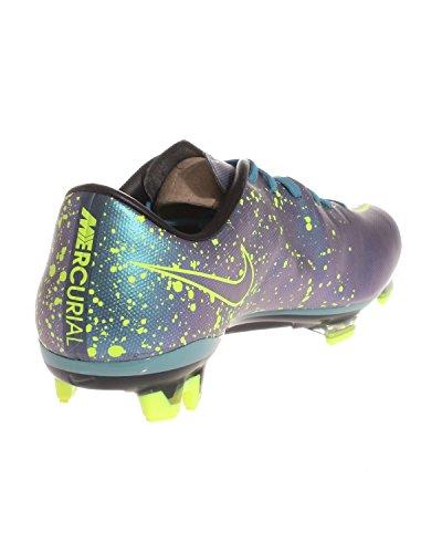 Nike Mercurial Veloce II FG, Scarpe da Calcio Uomo Azul / Negro / Verde (Squadron Blue / Sqdrn Bl-blk-vlt)