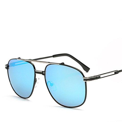 Chahua Les hommes et les femmes mode lunettes de soleil Lunettes de soleil Lunettes rétro gros européens et américains fort lunettes