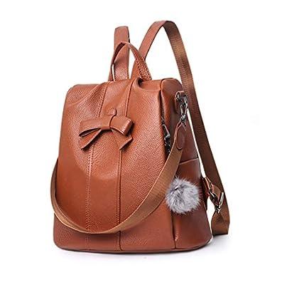 Huabor Women Backpack Purse Fashion Shoulder Bag Rucksack PU Leather Ladies Backpack Travel bag