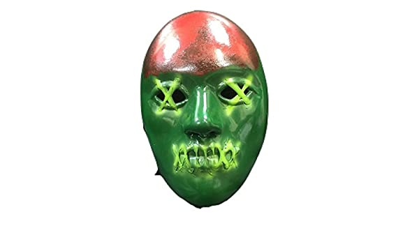 Amazon.com: Purge Statue Of Liberty - Plastic Election Year Halloween Mask - With Elasticated Strap: Clothing