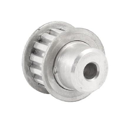 Tipo 10 mm de ancho de la cinta Paso de 5, 08 mm XL 15 Diente de aluminio Polea - - Amazon.com
