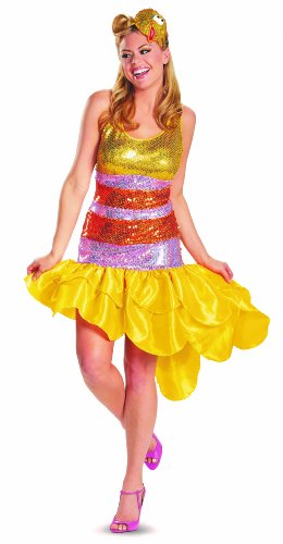 Disguise Sesame Street Big Bird Glam Deluxe Womens