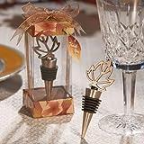 Fall Themed Bottle Stopper Wedding Favors, 72
