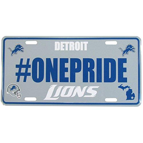 - Siskiyou NFL Detroit Lions Hashtag License Plate