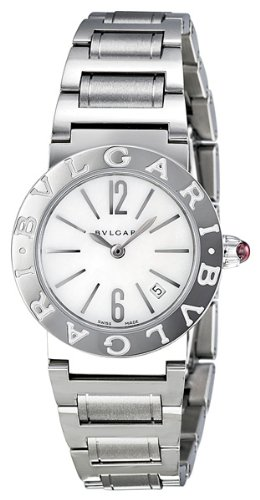 Bvlgari Mother of Pearl Stainless Steel Ladies Watch BBL26WSSD
