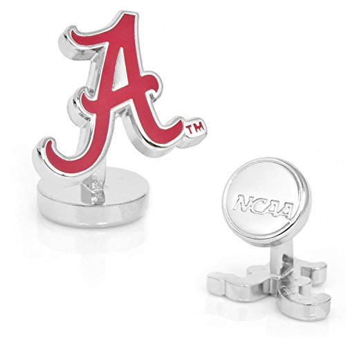 NCAA Palladium University of Alabama Crimson Tide Cufflinks by Cufflinks