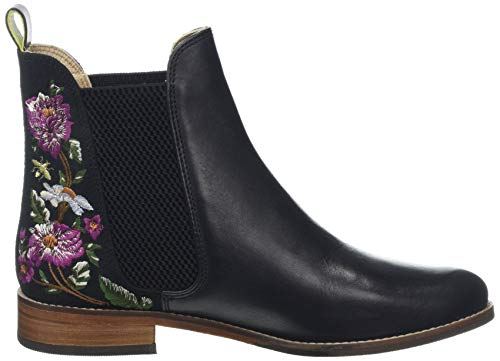 Black Westbourne Stivali Joules Woodland Black Chelsea donna Wellibob Blkwdfl da Floral Floral wx00XRqH4