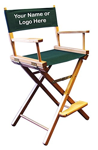 Personalized Imprinted Counter Height Director's Chair by Gold Medal