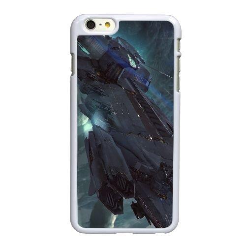 L6M96 citoyen étoiles H6V3BE coque iPhone 6 4.7 pouces cas de couverture de téléphone portable coque blanche KV4APE2OV