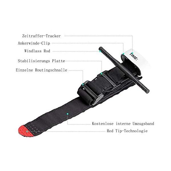 BEIAOSU Torniquete 2PCS Cinturón de Primeros Auxilios Torniquetes Tactico para el Control de la Pérdida de Sangre Senderismo para Exteriores 4